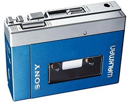 Sony Walkman blu