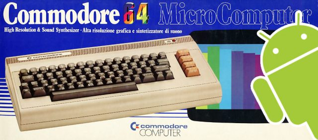 Il Commodore 64 emulato su Android