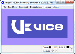 VICE Emulatore Commodore 64