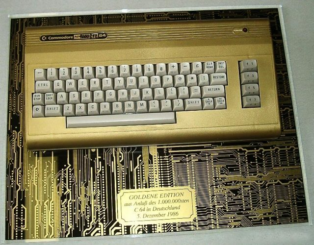 Commodore 64 Golden Edition