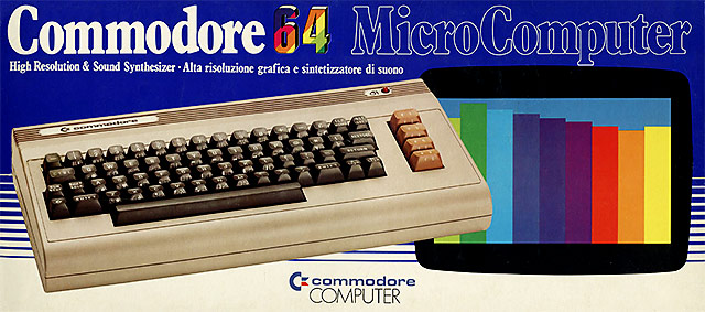 Commodore 64 scatolo