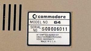 Commodore 64 serial
