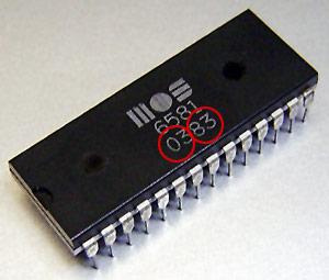 chip SID 6581
