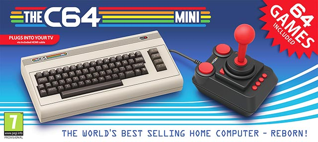 The C64 - Commodore 64 Mini