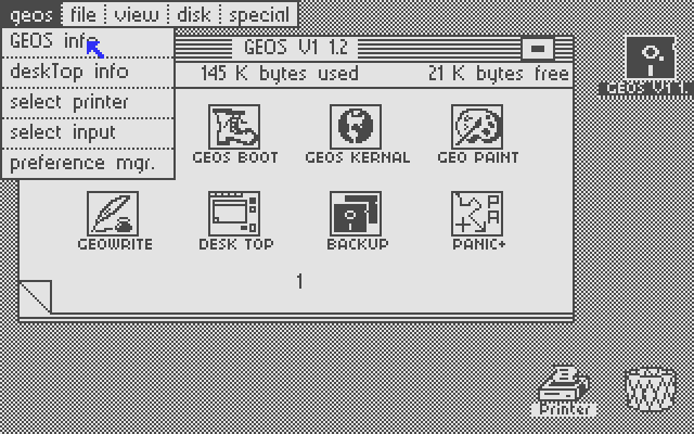 Commodore64 GEOS