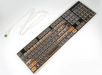 Atari 400 usb keyboard by Niyari