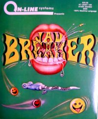 Jaw Breaker, prima cover per home computer Atari  (1981)