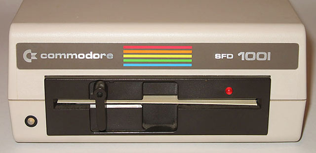 Commodore Floppy SFD 1001