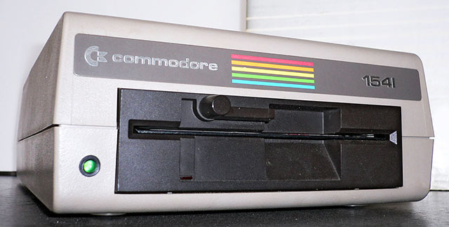 Commodore floppy drive 1541