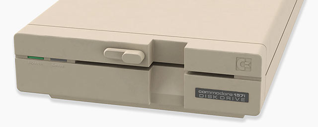 Commodore floppy drive 1571