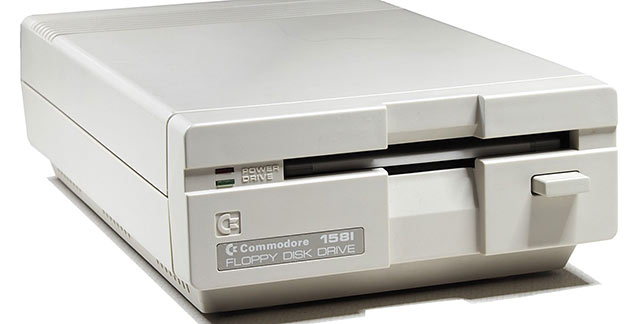 Commodore floppy drive 1581