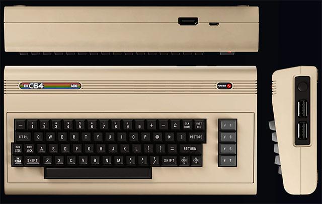 C64 views HDMI USB