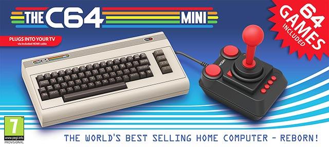 Commodore 64 Mini confezione e box cover