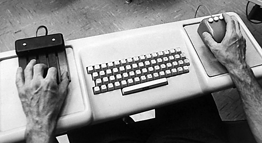 mouse e keyset Engelbart Augment Workstation