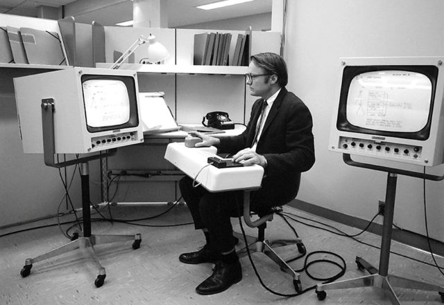 yoga workstation NLS Engelbart 1968