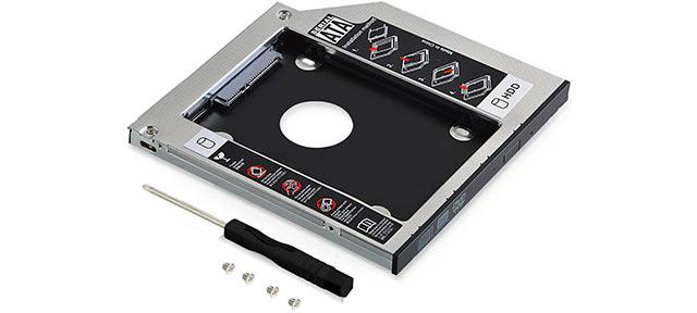 adattatore SSD per notebook